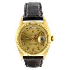 Rolex Day-Date 1803, Gold Dial, Certified and Warranty