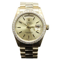 Rolex Day-Date 18038, Certified and Warranty