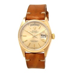 Rolex Day-Date 18038, Champagne Dial, Certified and Warranty