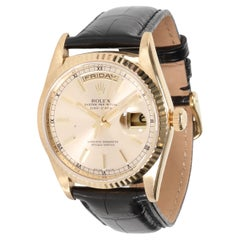Rolex Day-Date 18238 Men's Watch in 18kt Yellow Gold