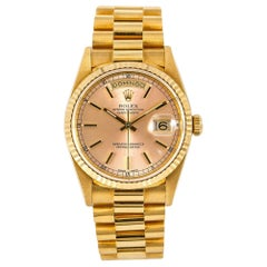 Rolex Day-Date 18238, Pink Dial, Certified nd Warranty