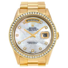 Rolex Day-Date 18238, White Dial, Certified and Warranty