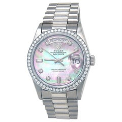 Rolex Day-Date 18239, Mother of Pearl Dial, Certified and Warranty