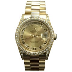 Rolex Day-Date 18388, Certified and Warranty