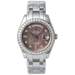 Rolex Day-Date 18946, Mother of Pearl Dial, Certified and Warranty