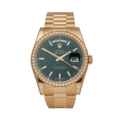 Rolex Day Date 18k Yellow Gold 118348 Wristwatch