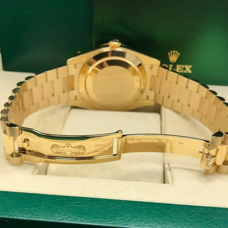 Rolex Day-Date 228238, Certified and Warranty In Good Condition In Miami, FL