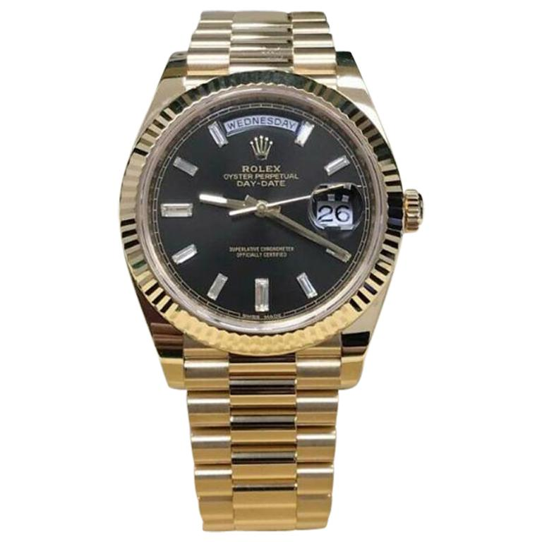Rolex Day-Date 228238, Certified and Warranty