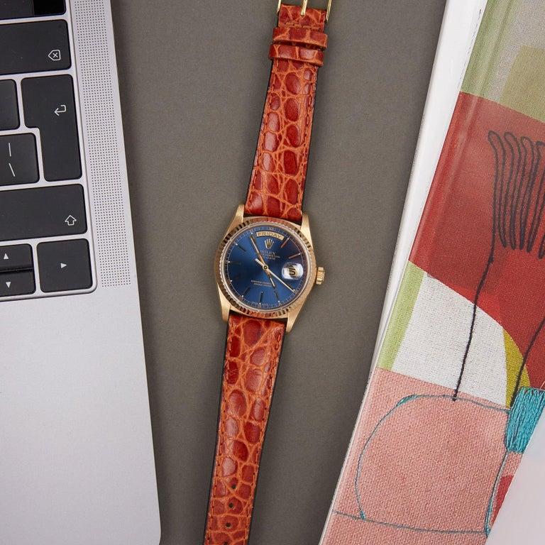Rolex Day-Date 36 18038 Men's Yellow Gold Watch 6