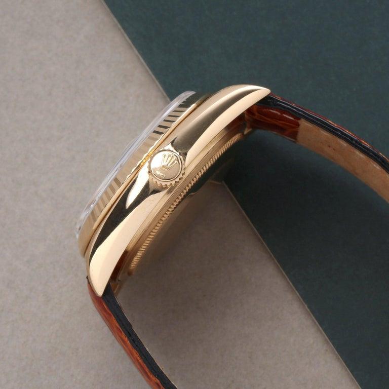 Women's or Men's Rolex Day-Date 36 18038 Men's Yellow Gold Watch
