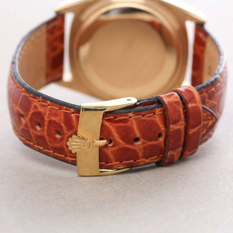 Rolex Day-Date 36 18038 Men's Yellow Gold Watch 3