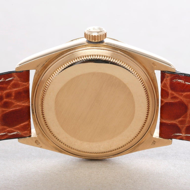 Rolex Day-Date 36 18038 Men's Yellow Gold Watch 4