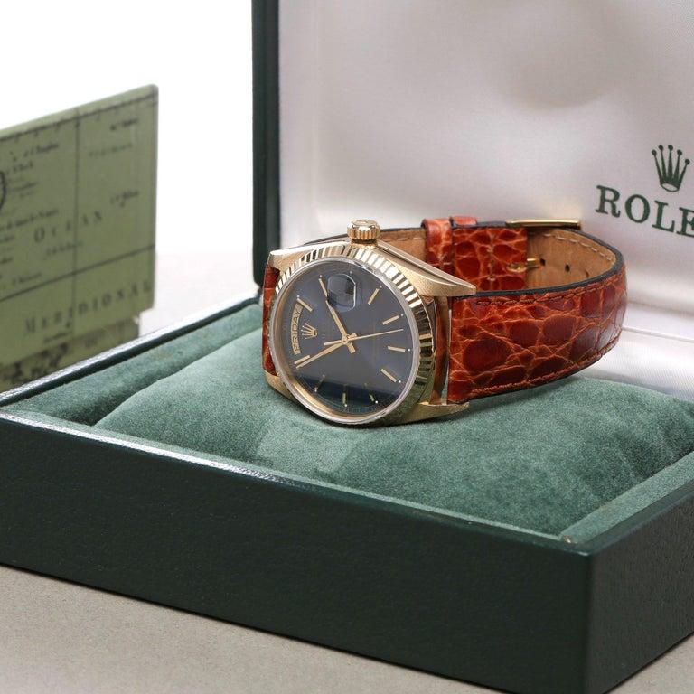 Rolex Day-Date 36 18038 Men's Yellow Gold Watch 5
