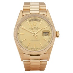 Rolex Day-Date 36 18038 Men's Yellow Gold Watch