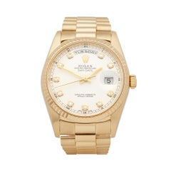 Rolex Day Date 36 18 Karat Yellow Gold 18238