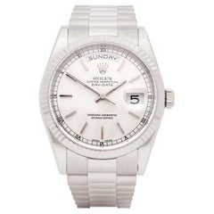 Rolex Day Date 36 Diamond White Gold 118239