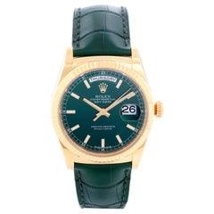 Rolex Day-Date 36 President 18 Karat Yellow Gold Men's Watch 118138