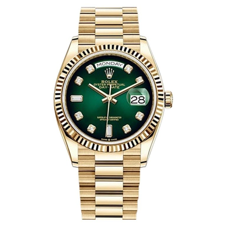 Rolex Day-Date Yellow Gold, 128238-0069 For Sale
