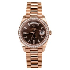 Rolex Day-Date 40 18 Karat Rose Gold '228345'