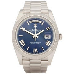 Rolex Day-Date 40 18 Karat White Gold 228239