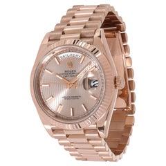 Rolex Day-Date 40 228235 Men's Watch in 18kt Rose Gold