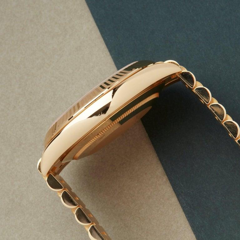 Rolex Day-Date 40 228238 Men's Yellow Gold Unworn Watch For Sale 3