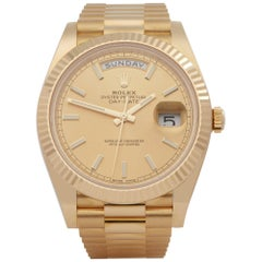 Rolex Day-Date 40 228238 Men's Yellow Gold Unworn Watch