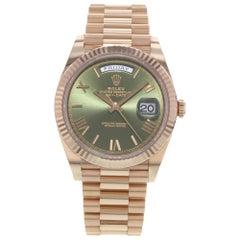 Rolex Day-Date 40 President 18 Karat Rose Gold Automatic Men's Watch 228235 OGRP