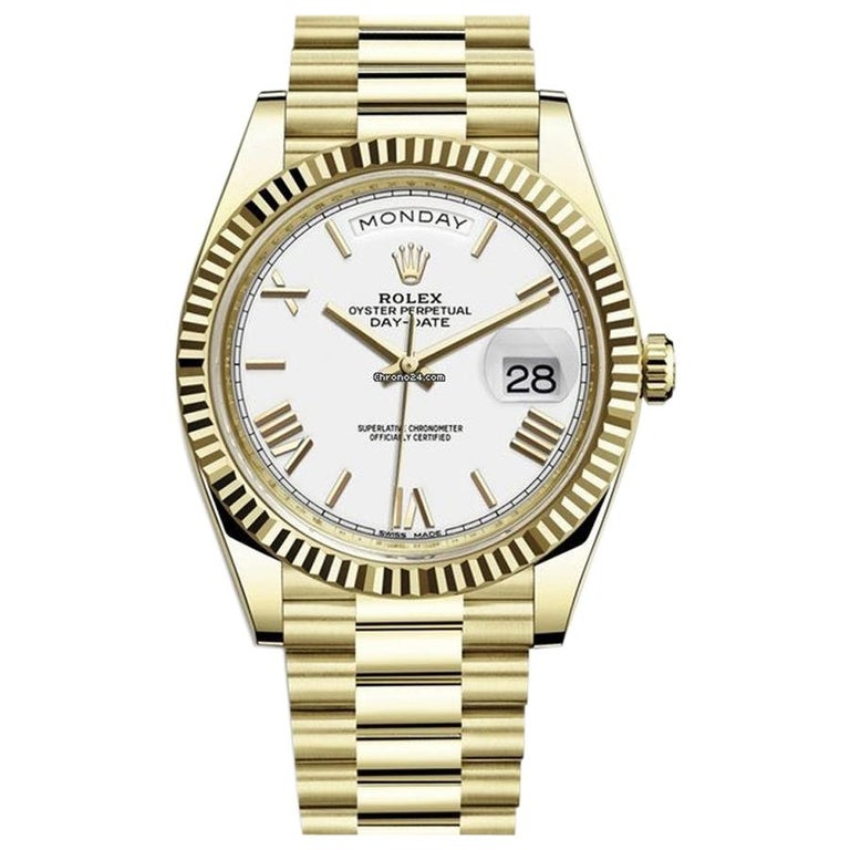 Rolex Day-Date Yellow Gold, 228238-0042 For Sale
