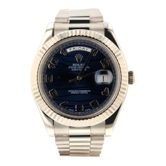 Rolex Day-Date II 218239, Millimeters, Certified and Warranty
