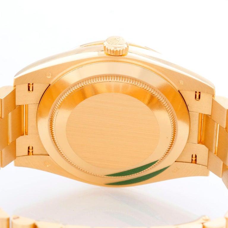 Rolex Day-Date II President 18 Karat Yellow Gold Men's Watch 2282348 RBR 1