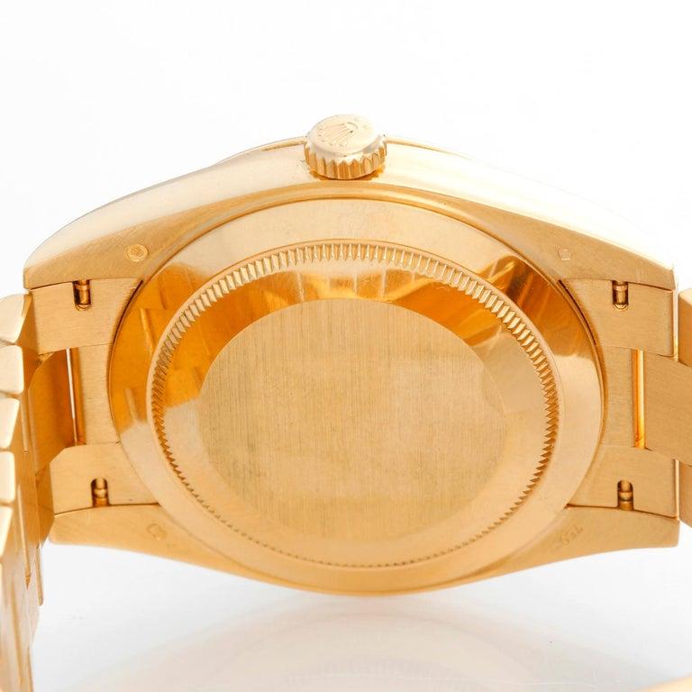 Rolex Day-Date II President 18 Karat Yellow Gold Men's Watch 228238 For Sale 1