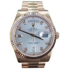 Rolex Day Date in Rose Gold, Model Number 118235, Registered 2005