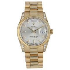 Rolex Day Date President 118338 Diamond Dial / Case Men's Watch
