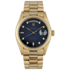 Rolex Day Date President 18038 Yellow Gold Men's Watch