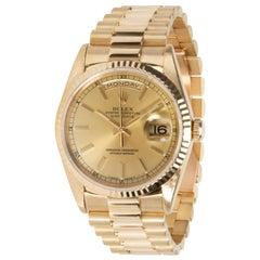 Rolex Day-Date President 18238 Men's Watch in 18 Karat Yellow Gold