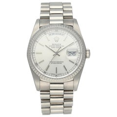 Rolex Day-Date President 18239 White Gold Men's Watch