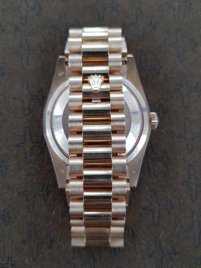 Rolex Day Date, Rose Gold, Model Number 118235, Registered 2005 For Sale 1