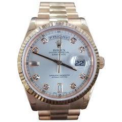 Rolex Day Date, Rose Gold, Model Number 118235, Registered 2005