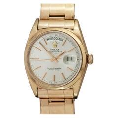 Rolex 18k Rose Gold Day-Date Rose Gold Ref 1802 Wristwatch, circa 1968