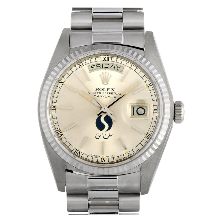 Rolex Day-Date SNAS Aviation Watch 18039 For Sale