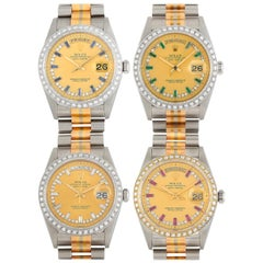 Rolex Day-Date Tridor Set of 4 Watches 18239