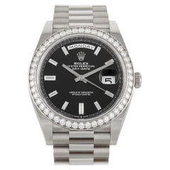 Rolex Day-Date White Gold Watch 228349RBR