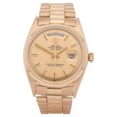 Rolex Day-Date Wideboy 1802 Men Yellow Gold 0 Watch