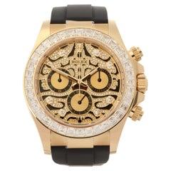Rolex Daytona 0 116588TBR Men Yellow Gold Eye of the Tiger' Watch