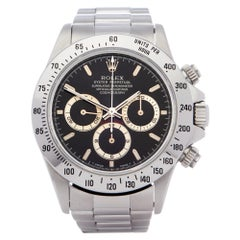 Rolex Daytona 0 16520 Men Stainless Steel Patrizzi Dial Watch