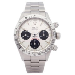 Rolex Daytona 0 6265 Men Stainless Steel Big Red' Watch