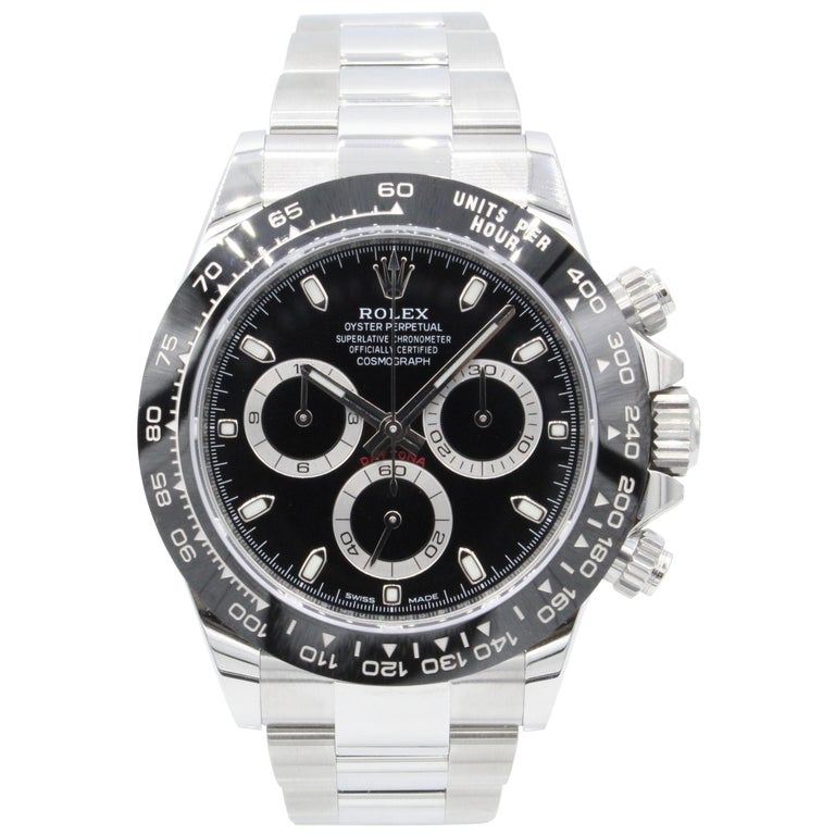 Rolex Daytona 116500, Case, Certified and Warranty For Sale