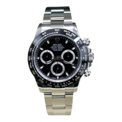 Rolex Daytona 116500, Silver Dial, Certified and Warranty