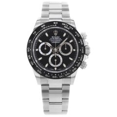 Rolex Daytona 116500LN bk Black Dial Steel Ceramic Automatic Men's Watch